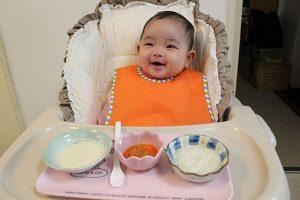 Ăn dặm kiểu Nhật giai đoạn đầu bé 5-6 tháng tuổi