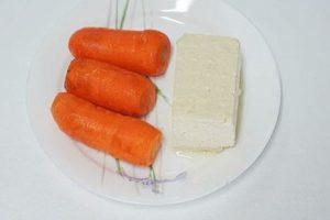 bột cà rốt cho bé